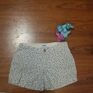Old Navy Floral Pattern Shorts